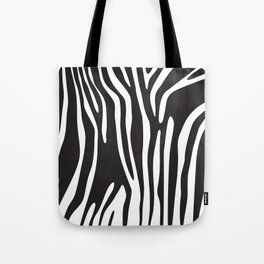 zebra skin background (animal print) Tote Bag