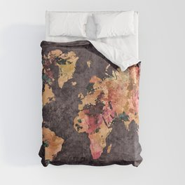 world map 68 Comforters