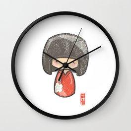 Kokeshi [Special Lucky Toy Box] Wall Clock