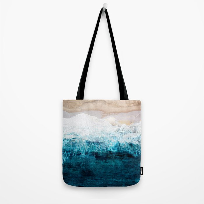 Watercolour Summer beach III Tote Bag