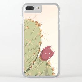S01 - Cactus Clear iPhone Case