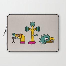 Aztec Glyphs ~3 Laptop Sleeve