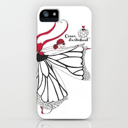 Katharina- Lady butterfly iPhone Case
