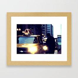 IN MOTION Framed Art Print