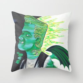 Mind for the Mistress Throw Pillow