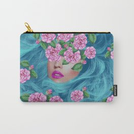 Lady with Camellias Carry-All Pouch