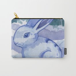 Snowbunny Carry-All Pouch