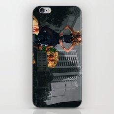 Food fantasy collage series #1 iPhone & iPod Skin