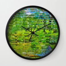 Landscape of My Heart (4 as 1) Wall Clock