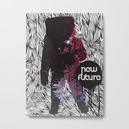 The New Future Is Here Metal Print