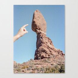 Balancing Rock. Arches National Park, Utah. Canvas Print