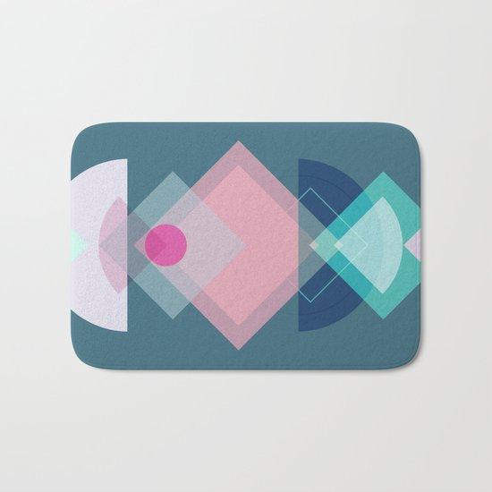 Geometric Play 1 Bath Mat