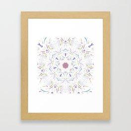 Inner Musings Mandala Framed Art Print