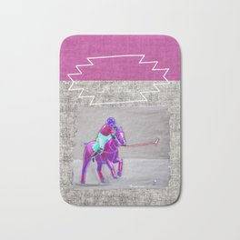 poloplayer grey-mauve Bath Mat