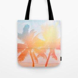 Tropicana seas - sundown Tote Bag