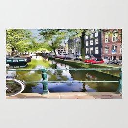 Amsterdam Canal Rug