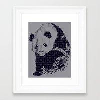 brand new Framed Art Prints featuring New Brand Panda by Tobe Fonseca