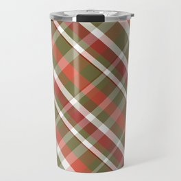 Olive this Plaid Travel Mug