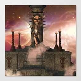 The  Totem place Canvas Print