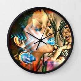 Make Me Up 4 Wall Clock