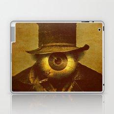 Monsieur Bone observes you Laptop & iPad Skin