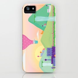 somewhere far away iPhone Case