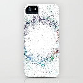 Swirling Of Life iPhone Case