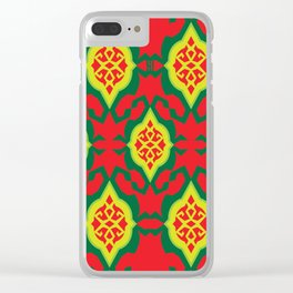MERRY YAH! Clear iPhone Case
