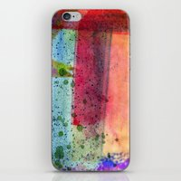 water color iPhone & iPod Skins featuring water color by Pao Designs