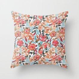 Spring Flor Adore Throw Pillow