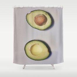 Healthy Fats | Avocado (2) Shower Curtain