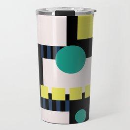 MidMod Shapes (Series 2) Night Travel Mug