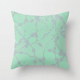 Thorns Mint Throw Pillow