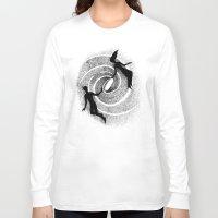 milky way Long Sleeve T-shirts featuring Milky Way by Aleksandra Kabakova