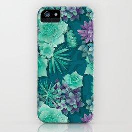 Succulent Love I iPhone Case