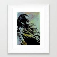 jack nicholson Framed Art Prints featuring Jack Nicholson by Giuseppe Cristiano