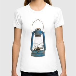 Very old kerosene lamp T-shirt