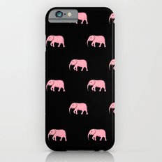 pink elephants iPhone 6s Slim Case