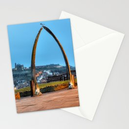 Whitby Whalebone Blue Hour Stationery Cards