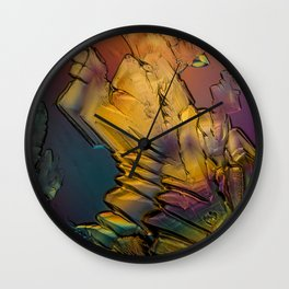 Micrograph 3 Wall Clock