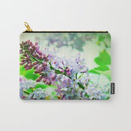 Lilacs In The Green Carry-All Pouch