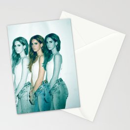 Lana - Blue Jeans, White Shirt Stationery Cards