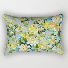 Flowes designs Rectangular Pillow