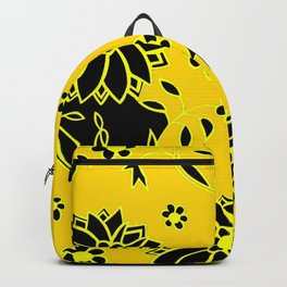 Floral Pattern Gift for Daughter Flower Bed Backpack