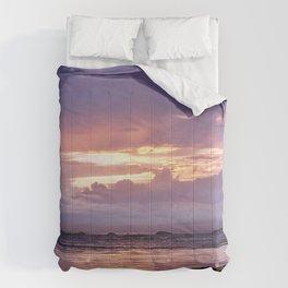 Misty Sunset Comforters