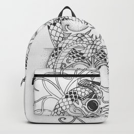 ouroboros tree of life Backpack