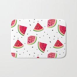 Watermelon slices Bath Mat
