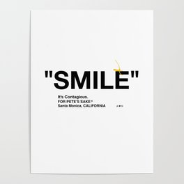 """SMILE"" Poster"