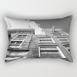 Dutch architecture in Amsterdam Rectangular Pillow
