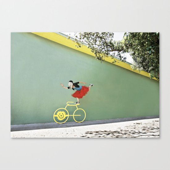 """Show Off"" Canvas Print"